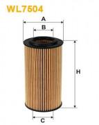 Масляный фильтр WIX WL7504