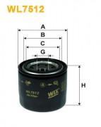 Масляный фильтр WIX WL7512