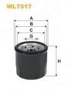 Масляный фильтр WIX WL7517
