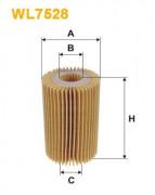 Масляный фильтр WIX WL7528