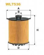 Масляный фильтр WIX WL7536