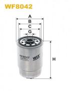 Топливный фильтр WIX WF8042
