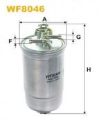 Топливный фильтр WIX WF8046