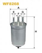 Топливный фильтр WIX WF8268