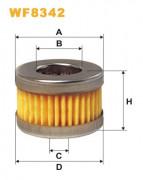 Топливный фильтр WIX WF8342