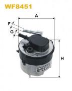 Топливный фильтр WIX WF8451