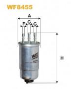 Топливный фильтр WIX WF8455