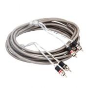 Kicx Межблочный кабель витая пара  Kicx RCA-02 PRO (4,9м)