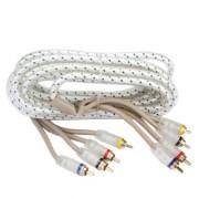 Межблочный кабель двойная изоляция Kicx FRCA45 (5м)