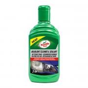 Полироль для пластиковых фар и задних фонарей Turtle Wax Headlight Cleaner & Sealant 53168 (300мл)