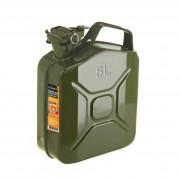 Канистра металлическая Lavita LA KM1005 / LA KM1010 / LA KM1020 (5, 10, 20 литров)