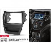 Переходная рамка Carav 11-787 для Hyundai ix45, Santa Fe 2012+, 2DIN