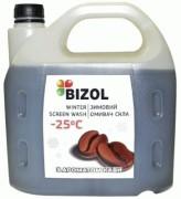 Незамерзаюча рідина в бачок омивача з ароматом кави Bizol (4л)