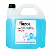 Незамерзаюча рідина в бачок омивача з ароматом парфуму Bizol (4л)