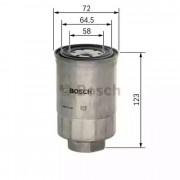 Топливный фильтр BOSCH 1457434440
