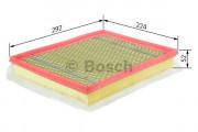 Повітряний фільтр BOSCH F 026 400 012