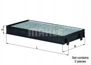 Фильтр салона угольный MAHLE LAK221/S
