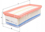 Воздушный фильтр MAHLE LX3542