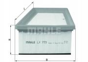 Воздушный фильтр MAHLE LX773