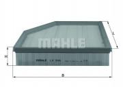 Воздушный фильтр MAHLE LX944