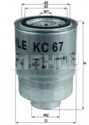Топливный фильтр MAHLE KC67