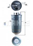 Топливный фильтр MAHLE KL147D