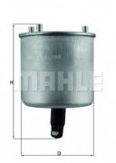 Топливный фильтр MAHLE KL788
