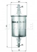 Топливный фильтр MAHLE KL83
