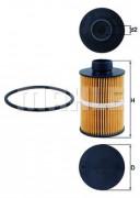 Паливний фільтр MAHLE KX208D