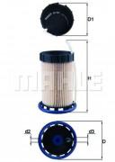 Топливный фильтр MAHLE KX492