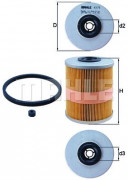 Топливный фильтр MAHLE KX78D