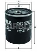Масляный фильтр MAHLE OC1292