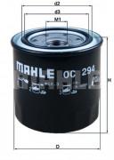 Масляный фильтр MAHLE OC294