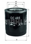 Масляный фильтр MAHLE OC485