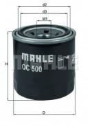 Масляный фильтр MAHLE OC500