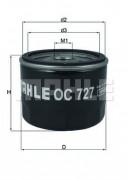 Масляный фильтр MAHLE OC727