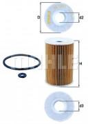 Масляный фильтр MAHLE OX135/1D