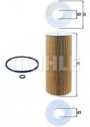 Масляный фильтр MAHLE OX143D