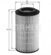 Масляный фильтр MAHLE OX153D3