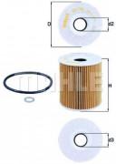 Масляный фильтр MAHLE OX156D