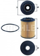 Масляный фильтр MAHLE OX160D