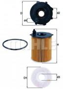 Масляный фильтр MAHLE OX171/16D
