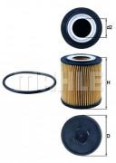 Масляный фильтр MAHLE OX182D