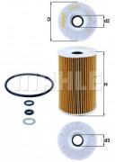 Масляный фильтр MAHLE OX351D
