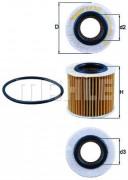 Масляный фильтр MAHLE OX360D