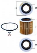 Масляный фильтр MAHLE OX387D