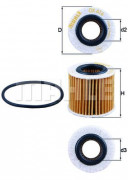 Масляный фильтр MAHLE OX416D1