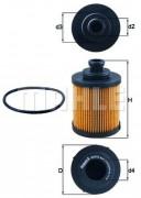 Масляный фильтр MAHLE OX418D