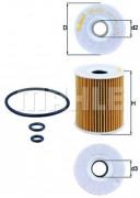 Масляный фильтр MAHLE OX422D
