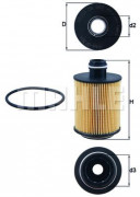 Масляный фильтр MAHLE OX559D